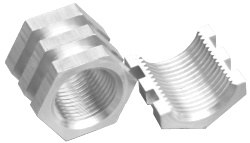 stainless steel threaded inserts